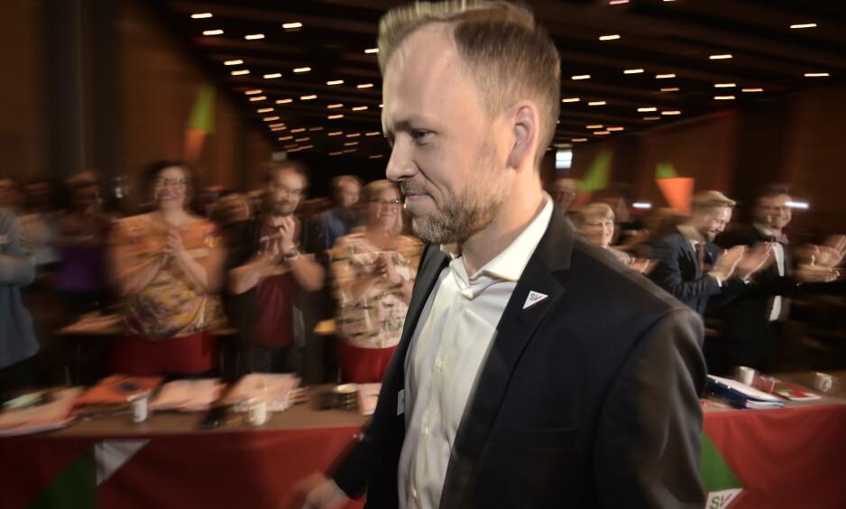 GRØNN BONUS: SV-leder Audun Lysbakken foreslår at nye miljøavgifter skal føres tilbake til folk. Foto: Hans Arne Vedlog / Dagbladet