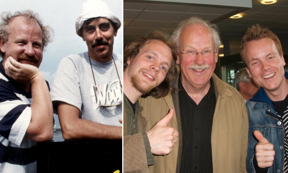 HUMORLEGENDE: Skuespillerens tidligere kollegaer minnes Jon Skolmen, som gikk bort torsdag. Foto: NTB Scanpix / Privat