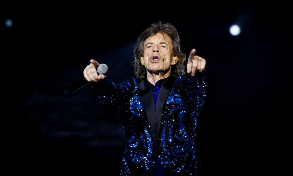 SYK: The Rolling Stones sin kommende turné i USA og Canada er utsatt av medisinske årsaker. Foto: John T. Pedersen / Dagbladet
