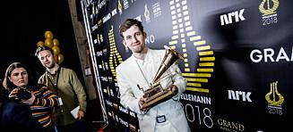 Alan Walker er årets Spellemann