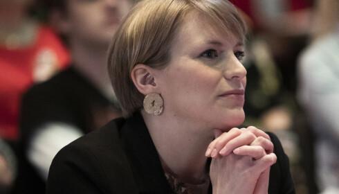 IKKE BØNNHØRT: Kari Elisabeth Kaski tapte nestlederduellen og er urolig for partiets klimaprofil. Foto: Berit Roald / NTB scanpix