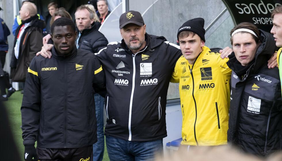BRÅK: Starts trener Kjetil Rekdal er foreløpig fratatt sine arbeidsoppgaver i klubben - og ingen vet hva som skjer den neste uka. Foto: Tor Erik Schrøder / NTB scanpix