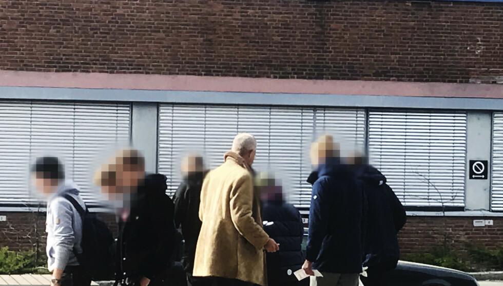BLE SKREMT: Da læreren fortalte hva Hans Jørgen Lysglimt Johansen står for og de selv sjekket på nettet, ble elevene forskrekket. Foto: Omar Samy Gamal