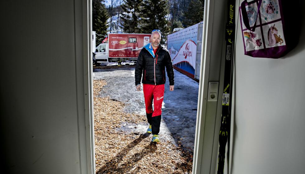 KLAR MELDING: Trond Nystad ringte nylig dopingdømte Max Hauke og Dominik Baldauf - og hadde to klare meldinger. Foto: Bjørn Langsem / Dagbladet