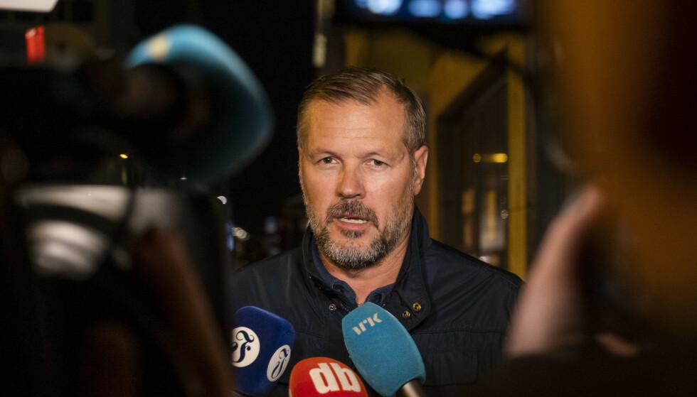 GÅR PÅ DAGEN: Kjetil Rekdal er ferdig som trener i Start. Foto: Tor Erik Schrøder / NTB scanpix