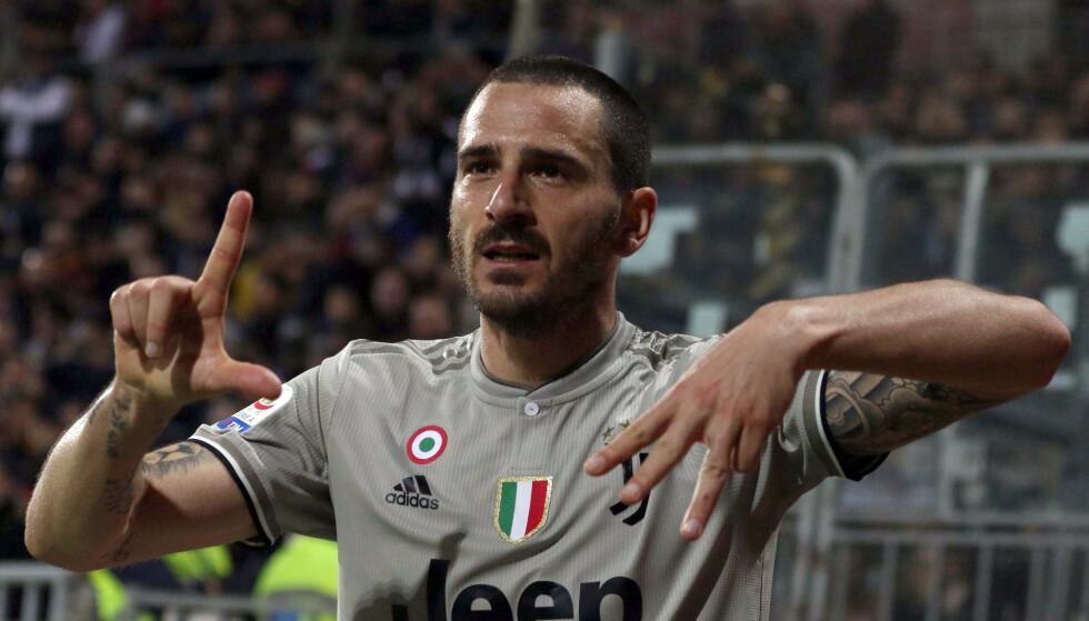 KRITISERES: Leonardo Bonucci er i hardt vær. Fabio Murru/ANSA