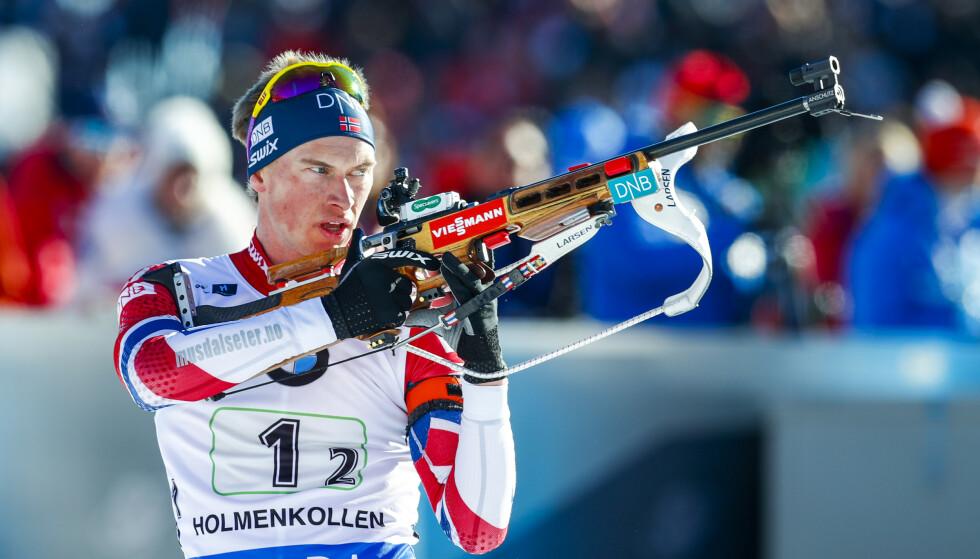 UTE: Henrik L'Abee Lund er ute av elitelandslaget kommende sesong. Foto: Heiko Junge / NTB scanpix