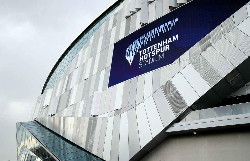 General view of the new Tottenham Hotspur Stadium