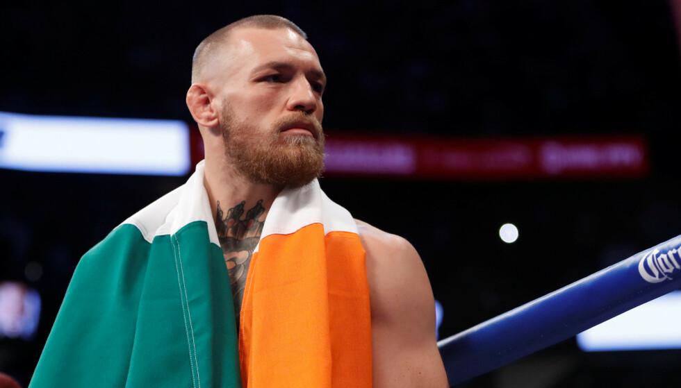 UBESTEMT: Conor McGregor har ved et par anledninger annonsert at han legger opp. Nå ser han ut til å gjøre helomvending igjen. Foto: REUTERS/Steve Marcus/File Photo