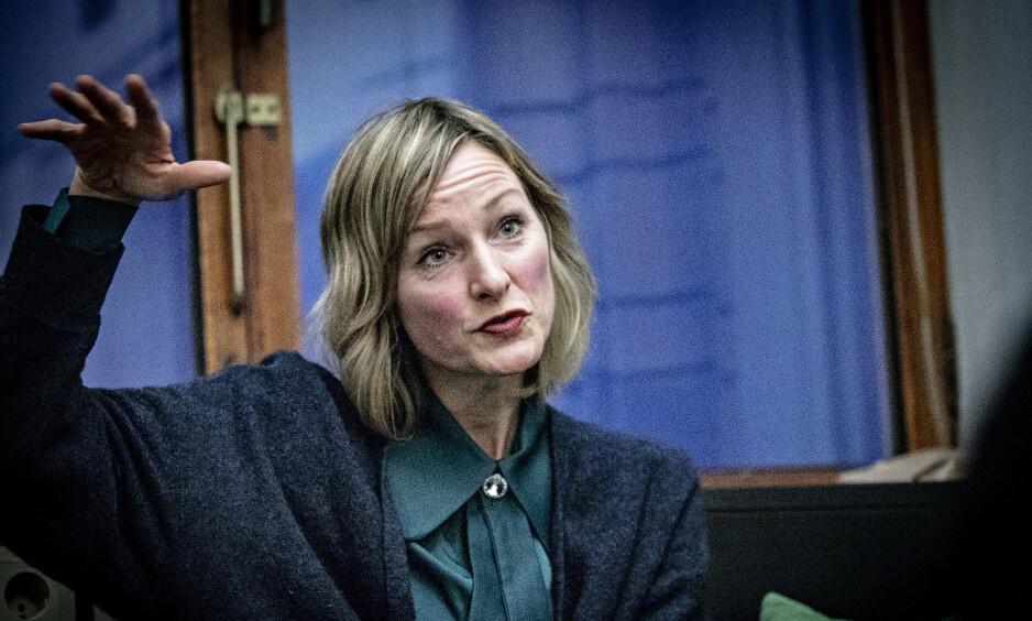 UT MOT POLITIET: Inga Marte Thorkildsen er svært kritisk til politiets Twitter-bruk når det oppstår episoder på barneskoler i Oslo. Foto: Bjørn Langsem / Dagbladet