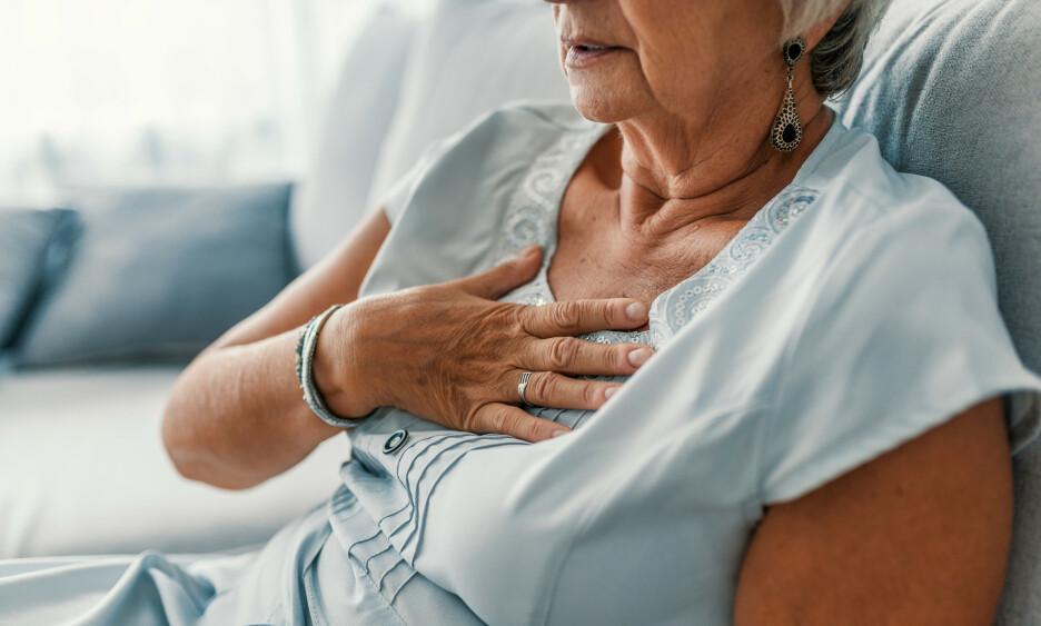 RAMMES PÅ NYTT: 1 av 4 pasienter under 80 år som legges inn med hjerteinfarkt ved norske sykehus, har tidligere vært behandlet for hjertesykdom. Foto: NTB Scanpix.