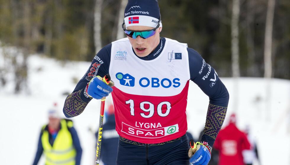 STERK: Mikael Gunnulfsen overbeviste under 50 km klassisk i NM på Lygna og viste igjen i Reistadløpet at langløpsformen er god. Foto: Terje Pedersen / NTB scanpix