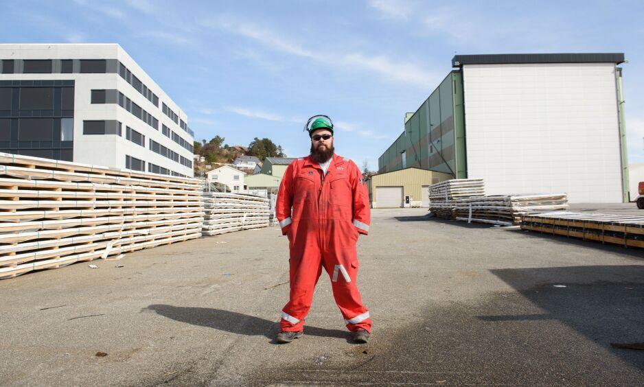 MELDER SEG UT: Nestleder i Fellesforbundet på Sunnhordland/Stord, Rickard Storevik, bekrefter at han melder seg ut av Ap. Foto: Henrik Mundal Andreassen
