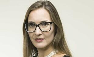 KRITISK: Kommunikasjonsdirektør Line Vee hanum i Nordic Entertainment Group. Foto: Nordic Entertainment Group