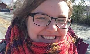 MASTERSTUDENT: Jenny Elise Øyen.