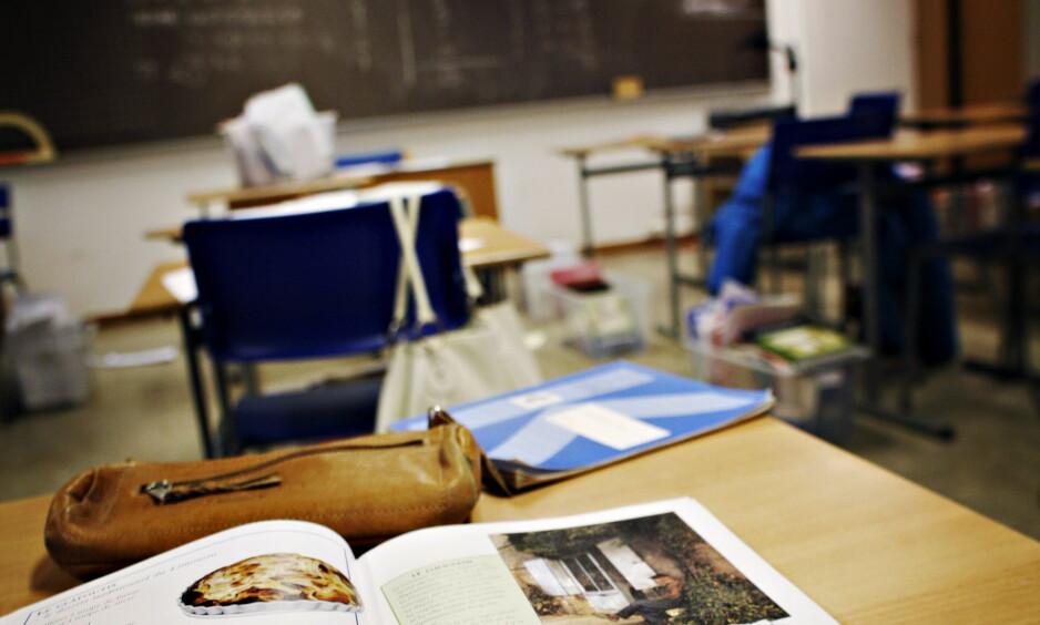 FORHOLD: Den kvinnelige læreren og eleven på den svenske skolen hadde et forhold som varte over flere måneder. Illustrasjonsfoto: Frank Karlsen / Dagbladet
