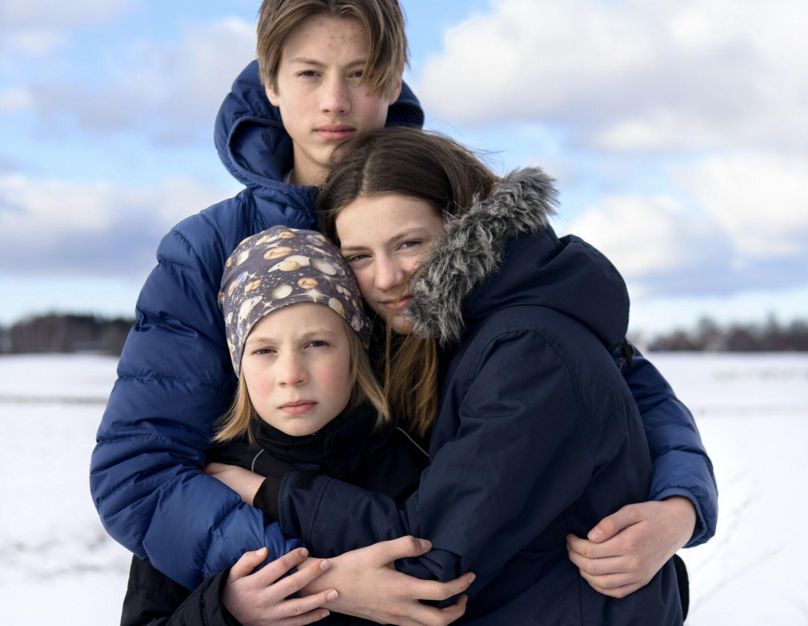 Snøskredet drepte faren til Bendik, Mali og Rasmus