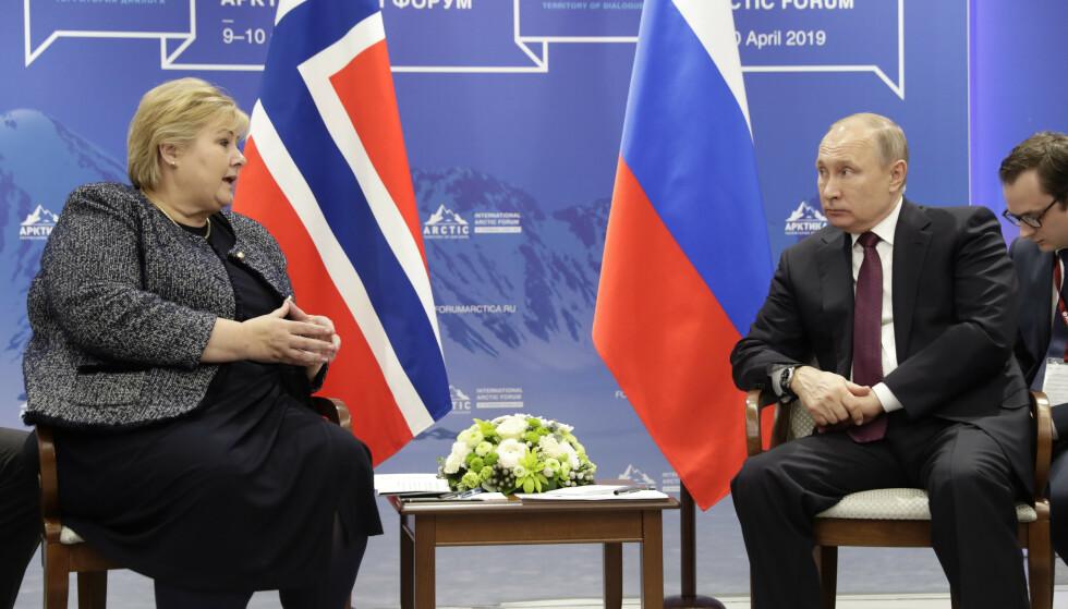 Putin om Frode Berg: - Kan bare benåde en person som er dømt