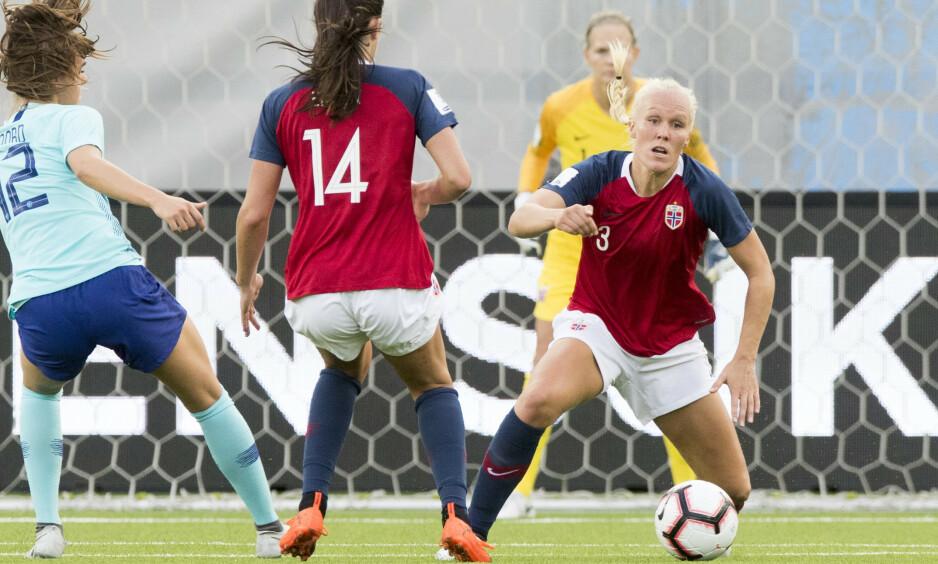TAP: Norge tapte for New Zealand. Her i aksjon mot Nederland. Foto: NTB scanpix