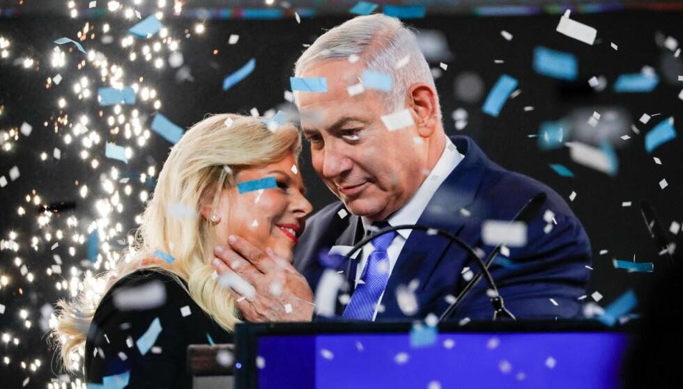 MOT HØYRE: Mens fredsprosessen med palestinerne har havnet lenger og lenger ned i den politiske skraphaugen, har israelske velgere gått mot høyre. Foto: Thomas COEX / AFP / NTB Scanpix