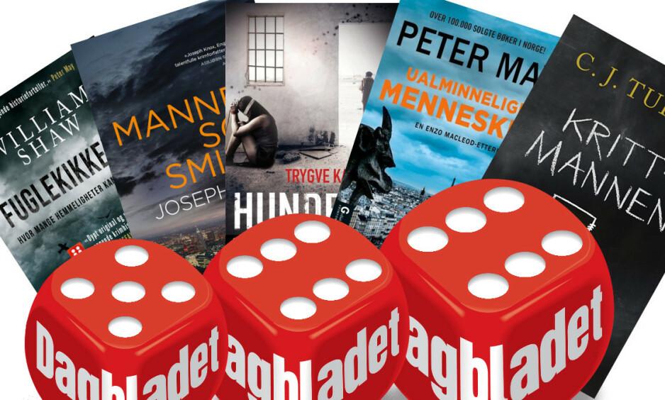 GOD AVKOBLING: Dagbladets Fredrik Wandrup har trillet terningkast på en rekke nye bøker.