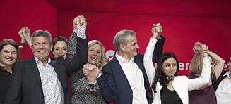 Dette var sjeldent klønete fra en nestleder i Norges største parti