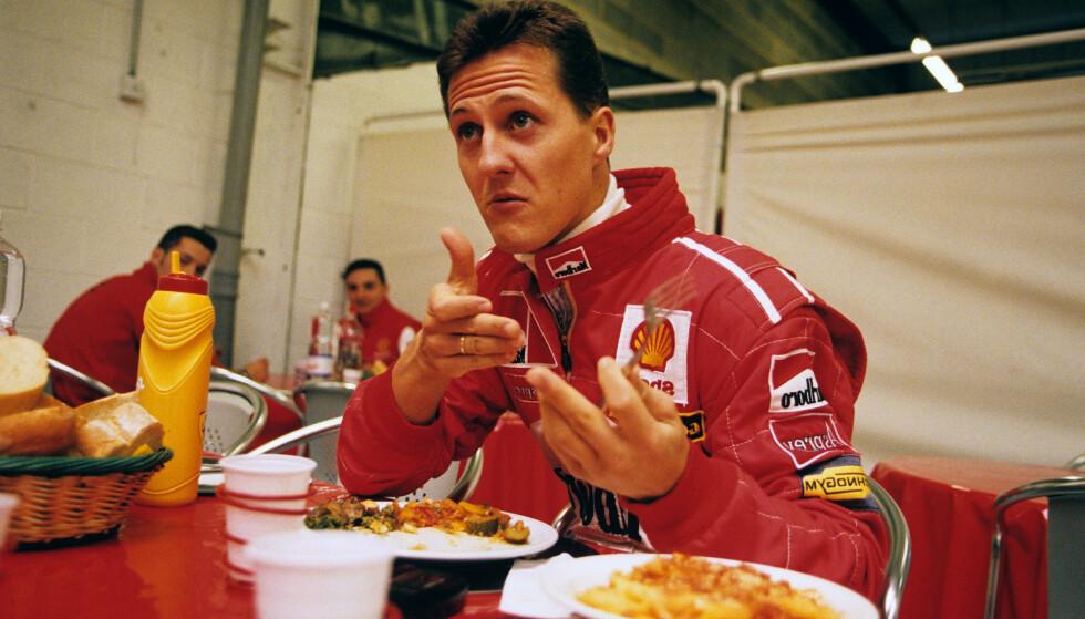 FÅR KRITIKK: Formel 1-legenden Michael Schumacher. Foto: Andy Watts/REX