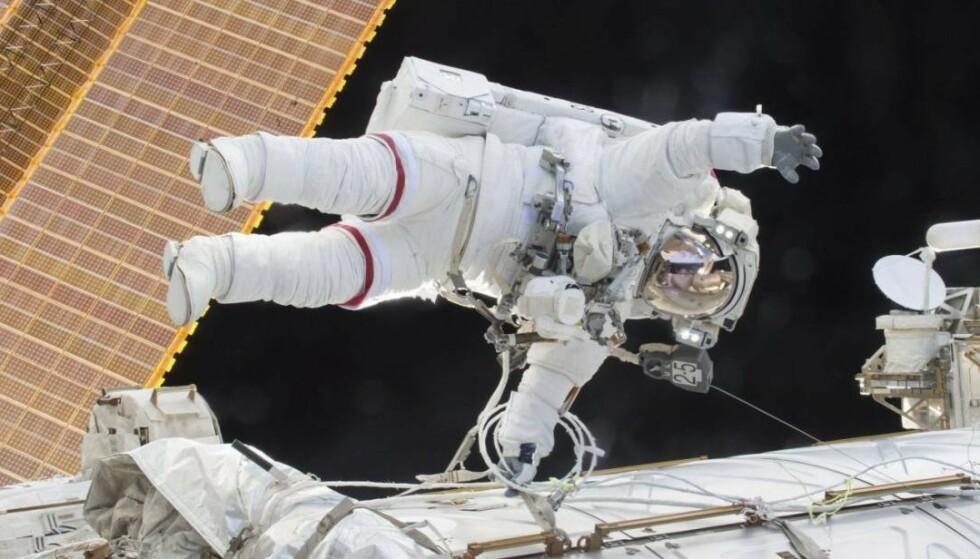 TIDLIGERE BRAVADER: Scott Kelly har vært på flere nevneverdige reiser i verdensrommet. Foto: Nasa
