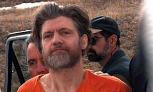 «UNABOMBEREN»: Theodore Kaczynski fotografert i 1996. Den tidligere matematikkprofessoren og anarkisten drepte tre og skadet 23 andre i perioden 1978-1995 i forsøket på å starte en revolusjon. Foto: NTB Scanpix