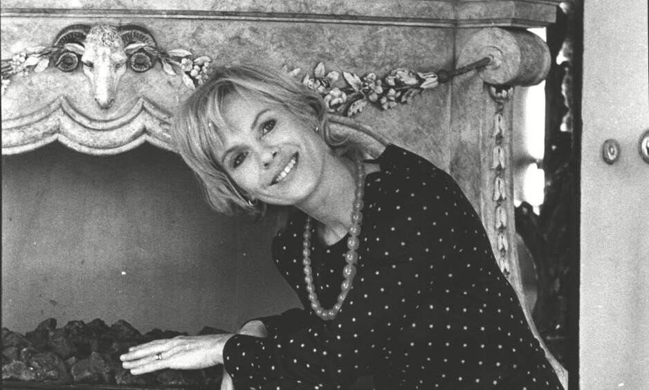 DØD: Den svenske skuespilleren Bibi Andersson ble 83 år gammel. Her fotografert i 1971. Foto: NTB scanpix