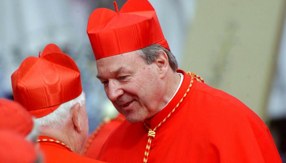 OVERGREPSDØMT: Pave Frans' tidligere høyre hånd ble i desember dømt for voldtekt og overgrep mot to unge korgutter i Australia. Foto: NTB Scanpix