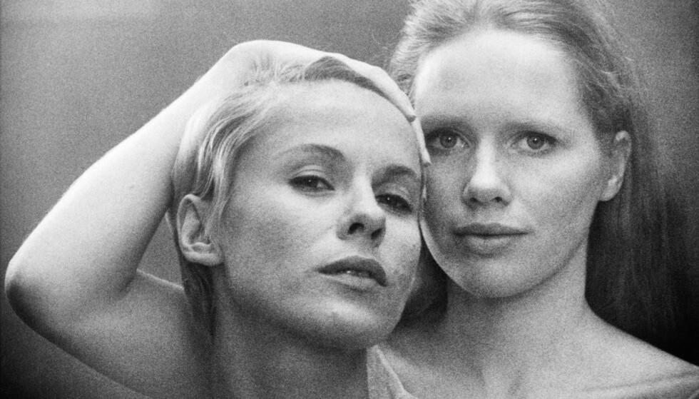 IKONISK: Bibi Andersson og Liv Ullmann spilte hovedrollene i Ingmar Bergmans mesterverk «Persona» fra 1966.