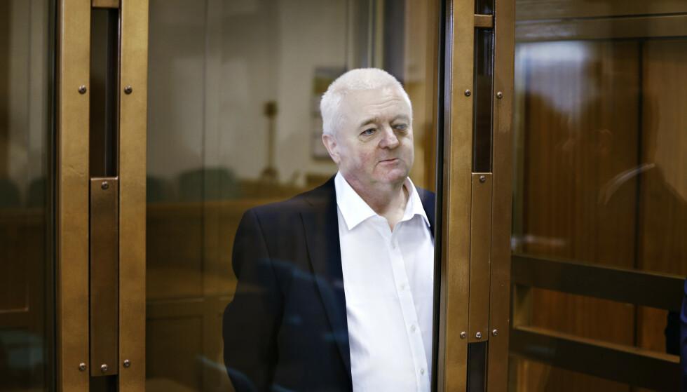 DØMT: Frode Berg ble i dag dømt til 14 års fengsel i Moskva byrett. Foto: Henning Lillegård / Dagbladet