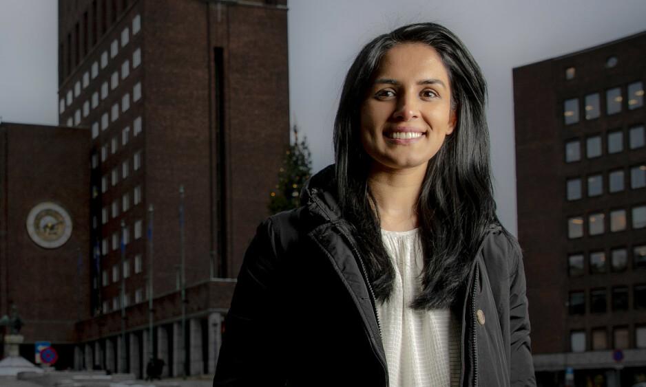 Saida Begum, Høyres ordførerkandidat i Oslo Foto: Bjørn Langsem / Dagbladet