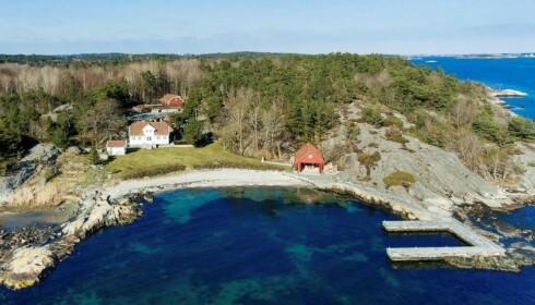 IDYLL: Einar Aas selger nå strandeiendommene for å dekke inn tapet på kraftmarkedet. Foto: Kurt Engen / Inviso