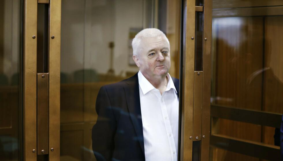 DØMT: Frode Berg ble tirsdag dømt til 14 års fengsel i Moskva byrett. Foto: Henning Lillegård / Dagbladet