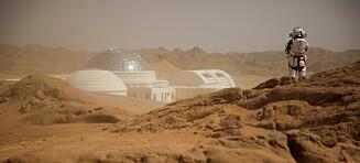 Dette er Mars Base 1 Camp