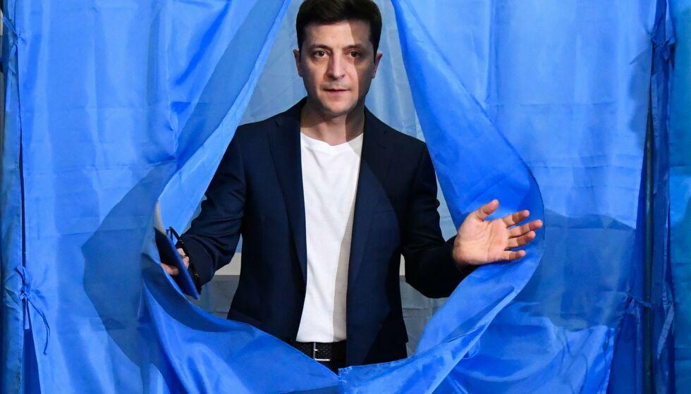 EN ÅPENBARING: Volodymyr Zelenskyj kan lage en ny revolusjon i Ukraina. Bilde: AFP / NTB Scanpix