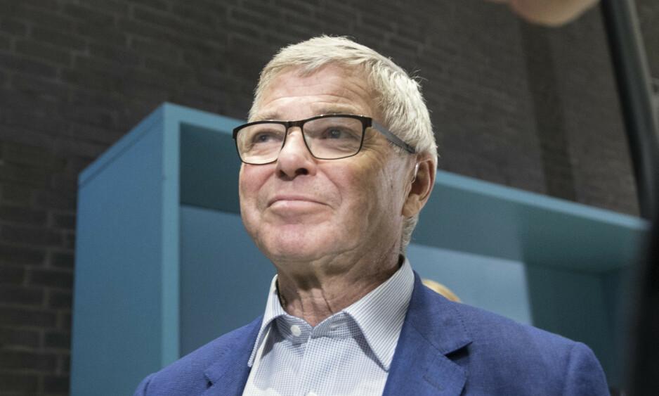 STREIKERAMMET: Kjell Magne Bondevik kommer seg ikke til Sola i helgen for å delta på KrF-landsmøtet. Det blir første gang på 54 år han har fravær. Foto: Vidar Ruud / NTB scanpix