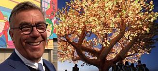Hagen dropper dressen på festival: Går i «hippieklær»