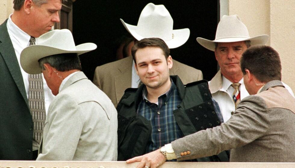 HENRETTET: John William King ble i natt henrettet for drapet på James Byrd Jr. i 1998. Foto: PAUL BUCK / AFP / NTB scanpix