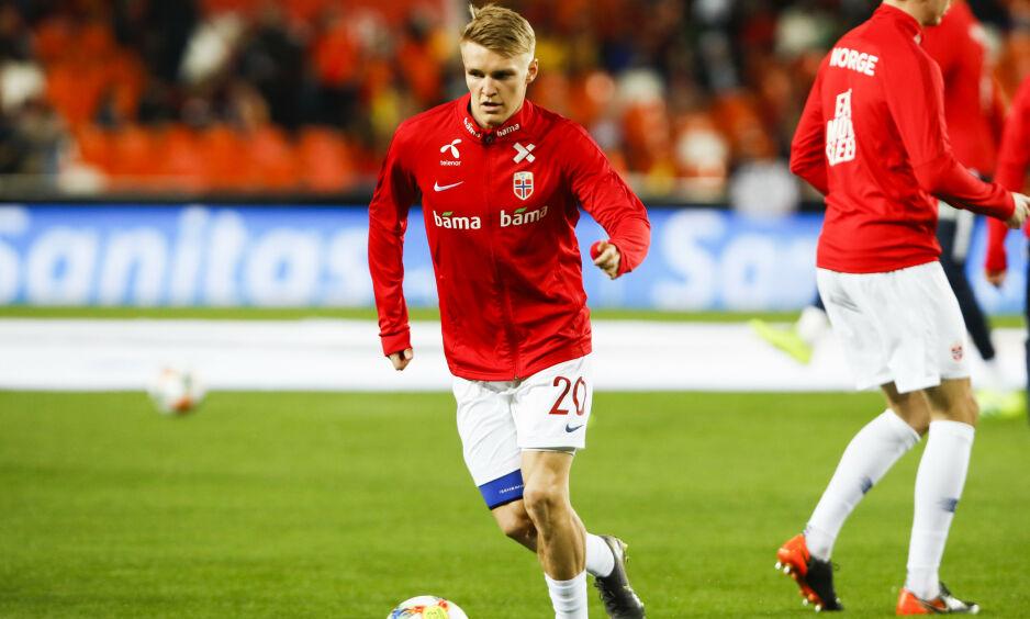 TAP: Martin Ødegaard og hans Vitesse tapte første semifinale i den nederlandske europaligkvalifiseringen, men returkampen på hjemmebane står igjen. Foto: Erik Johansen / NTB scanpix