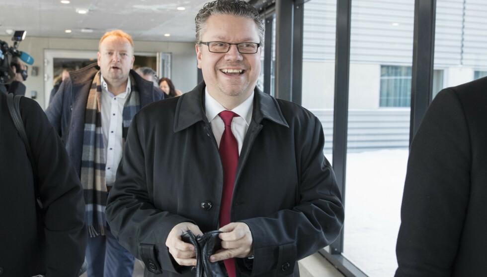 FERDIG: Ulf Leirstein melder seg ut av Fremskrittspartiet. Foto: Vidar Ruud /NTB Scanpix