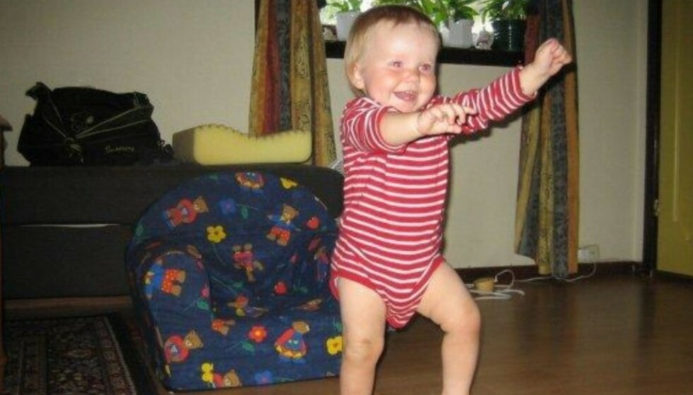 DØDE: Martine døde bare 13 måneder gammel i 2006. Politiet sier dødsårsak er vold mot bakhodet, og hennes tidligere barnevakt er nå dømt.. Foto: Privat