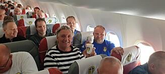 Fylte charterfly med 130 Leeds-supportere