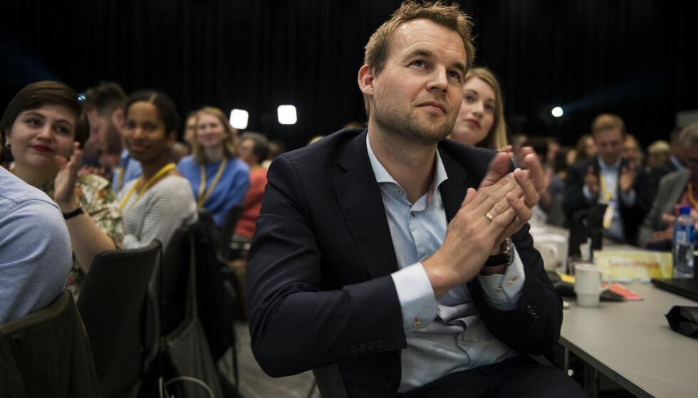 VALGT: Kjell Ingolf Ropstad er ny leder i Kristelig Folkeparti. Foto: Carina Johansen / NTB Scanpix