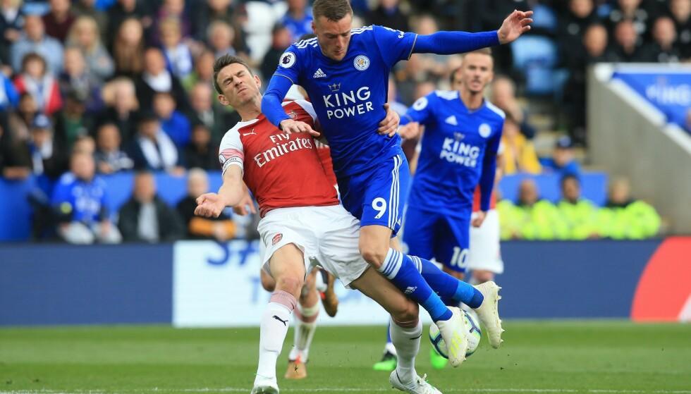 HERJET: Leicester valset over Arsenal. Foto: NTB Scanpix
