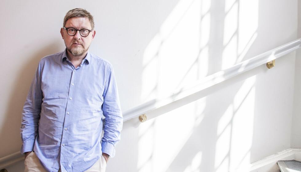 BOKAKTUELL: Fredrik Virtanen tidligere journalist i Aftonbladet men måtte gå etter me too anklager. Nå har han skrevet bok om saken.    Foto: Hans Arne Vedlog / Dagbladet