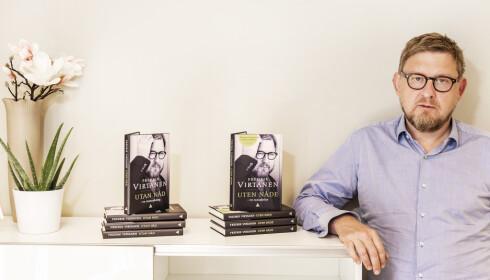 HÅPER Å STARTE DEBATT: Fredrik Virtanen håper hans nye bok skaper en selvkritisk debatt i svenske medier. Foto: Hans Arne Vedlog / Dagbladet