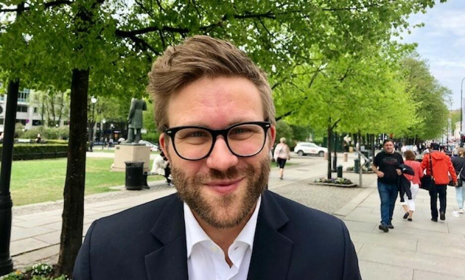 GRØNN UTFORDRING: Stefan Heggelund, Høyre-representant i energikomiteen på Stortinget, utfordrer venstresidens klimapolitikk. Foto: Gunnar Ringheim / Dagbladet
